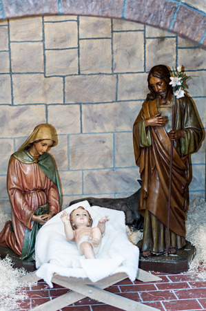 lamb of god: Christmas figures in traditional trade