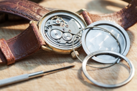 Special tools for repair of clocks  photo