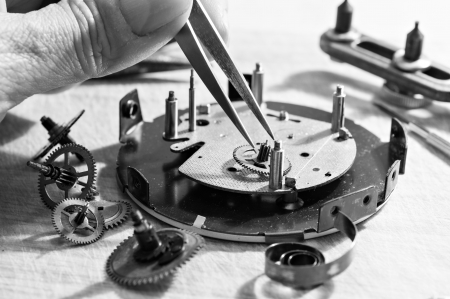 Special tools for repair of clocks  photo
