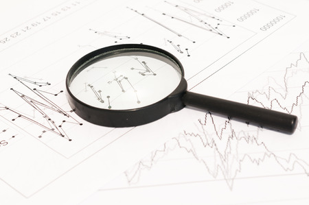 simulating: Numerical and graphical data simulating a financial study
