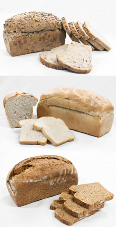 Special manufacture bread spelled flour photo