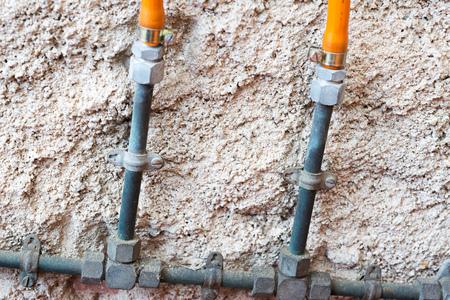 butane: Intercambio enc�as Detalle de una botella de butano