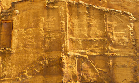 tar felt: Impermeable wall of a building