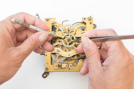 restoration: Old alarm clock for restoration