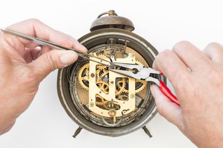 Old alarm clock for restoration