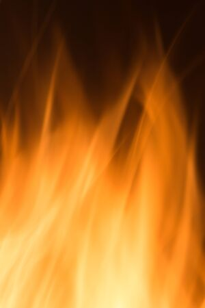 orange inferno: Detail of a flaming fire for funds