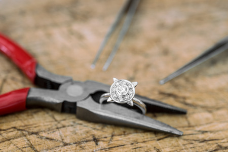 Workshop manufacture and repair of jewelry
