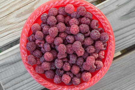 consists: Wallpaper consists of red raspberries