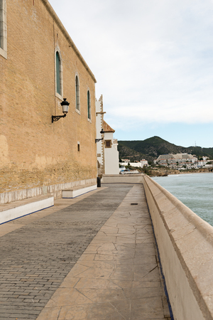 cau: Details city of Sitges in Barcelona (Spain) Stock Photo