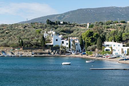 printmaker: PORT LLIGAT - CADAQUES (Girona - Spain) - 21 October 2015. Salvador Dalí (painter, sculptor, printmaker.) - House Museum. In Port Lligat 21 October 2015. Editorial