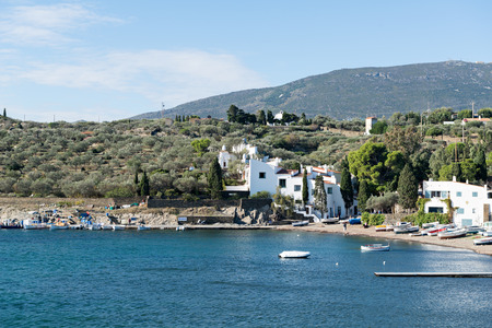 printmaker: PORT LLIGAT - CADAQUES (Girona - Spain) - 21 October 2015. Salvador Dalí (painter, sculptor, printmaker.) - House Museum. In Port Lligat 21 October 2015.