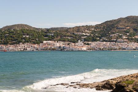 selva: PORT DE LA SELVA - GIRONA (SPAIN) - Fishing village on the Cap de Creus (Costa Brava) and tourist destination. 20 October 2015 in Port de la Selva