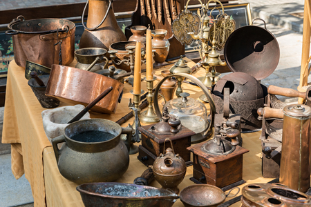 Decorative objects in Antiques Market