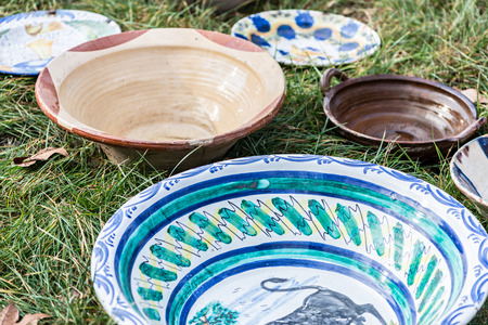 antiques: Decorative objects in Antiques Market