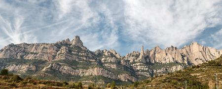 Details Monastery Montserrat (Barcelona - Spain) Фото со стока