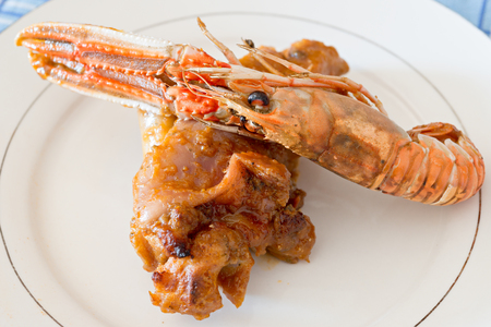 trotter: Recipe trotters with Nephrops norvegicus