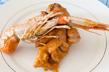 jhy: Recipe trotters with Nephrops norvegicus