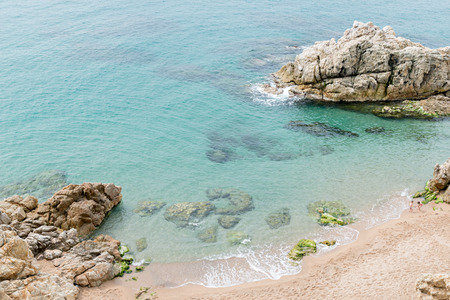 Landscapes and details of the Costa Brava in Girona (Spain)