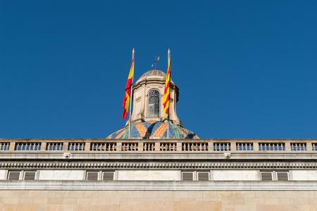 Building of the Generalitat de Catalunya (Spain)