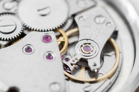pinzas: Details of watches and mechanisms for reparation, restoration and maintenance