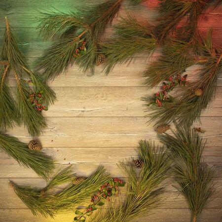 Christmas Family Frame 免版税图像