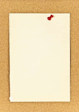 A corkboard interface with pinned items.  photo