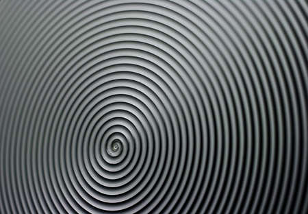 Stainless steel radial texture. photo