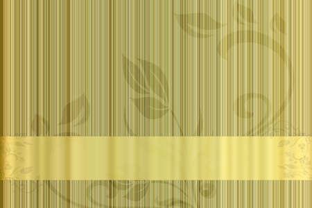 Retro yellow abstract light background. Stock Photo - 11453064