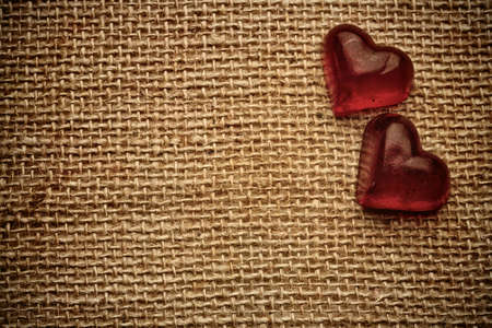 Old vintage heart background. Stock Photo - 17772610