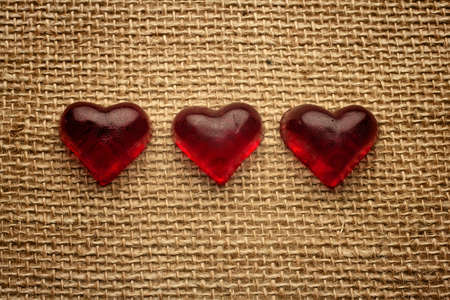 Old vintage heart background. Stock Photo - 17772619