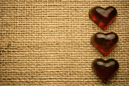 Old vintage heart background. Stock Photo - 17772618