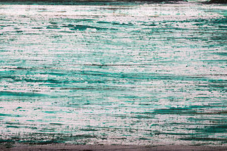 Turquoise wooden textured, wooden backdrop. photo