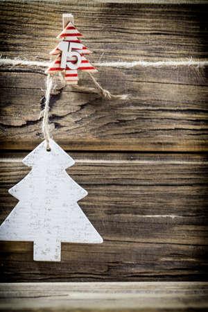 Carte de voeux de Noël.
