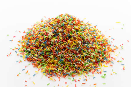 decora: Decora pieces. Cakes and sweets. Muffin decor. Stock Photo
