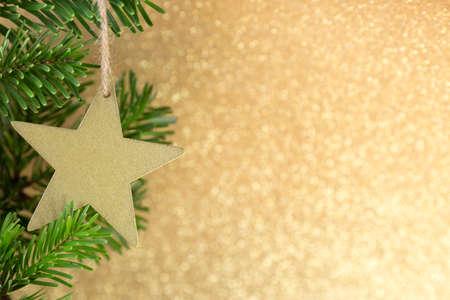 クリスマスのグリーティング カード。クリスマスの背景。