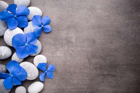 zen spa: Spa stones treatment scene, zen like concepts.