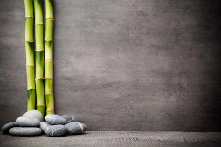 armonía: Escena tratamiento Piedras spa, zen como conceptos. Foto de archivo