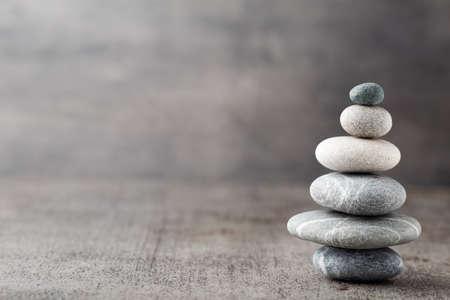 piedras zen: Spa piedras Foto de archivo