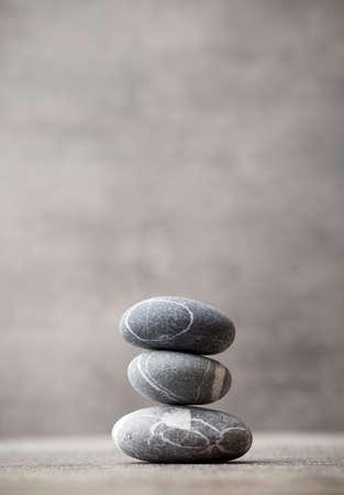 Stones spa behandeling scène, zen als concepten. Stockfoto