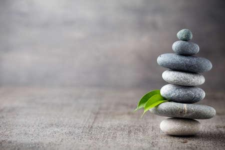Spa stenen behandeling scène, zen als concepten. Stockfoto - 44143084