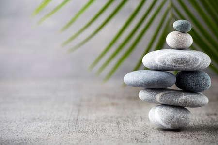 zen like: Spa stones, zen like concepts. Stock Photo