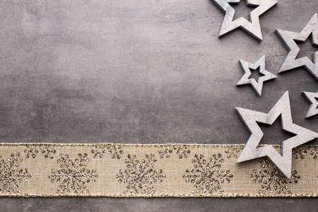 Christmas greeting card. Symbol and decor.