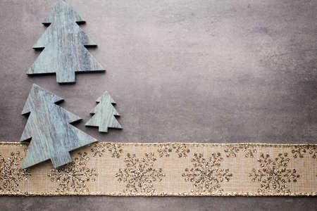 クリスマスの背景、グリーティング カード。装飾。