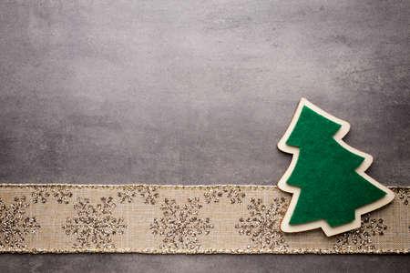 greeting christmas: Christmas background, greeting card. Decoration. Stock Photo