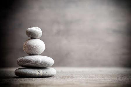 Stones spa treatment scene, zen like concepts. 版權商用圖片