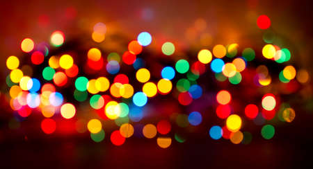 vibrant background: Defocused colored christmas day background. Stock Photo