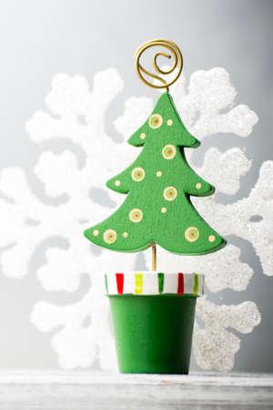 christmas decor: Christmas backgrounds. Christmas decor on the blur background. Stock Photo