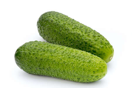 cuke: The first spring ecologically cucumbers.