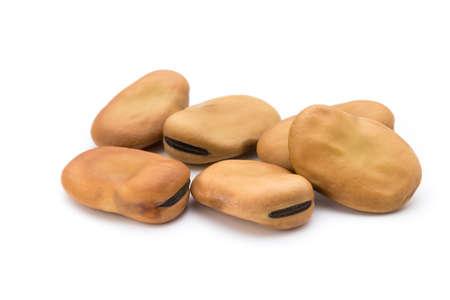 haricot: Phaseolus vulgaris beans isolated on white background.