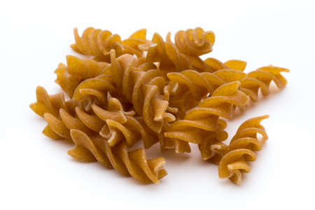 Pasta isolated on the white background.